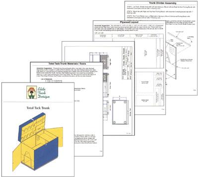Elite Tack Design Illustrations And Plans For Tack Trunk